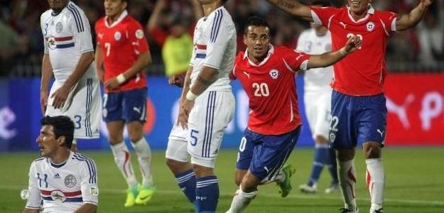 Chile se ha complicado su clasificación. Foto:lainformacion.com