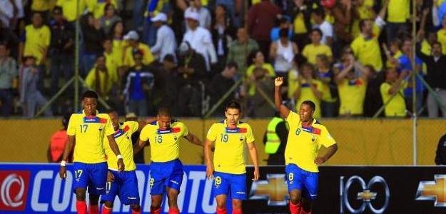Ecuador con una gran escuadra. Foto:lainformacion.com/EFE