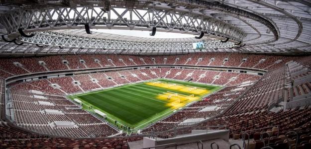 Estadio de Luzhnikí, sede de la final del Mundial de Rusia 2018.