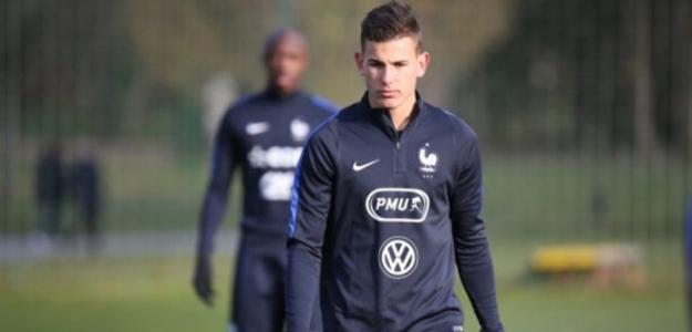 Lucas Hernández se decantó por Francia para el Mundial 2018.