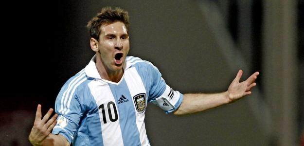 Messi, máximo goleador