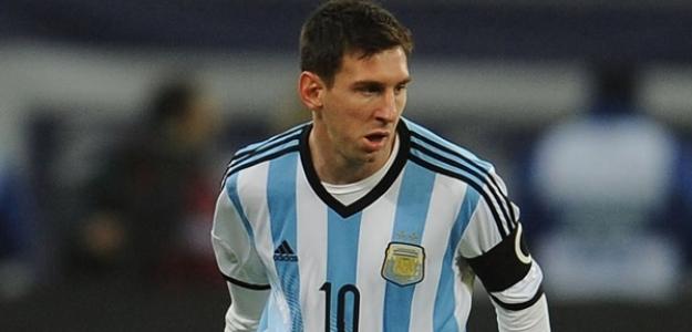 Messi en el mundial
