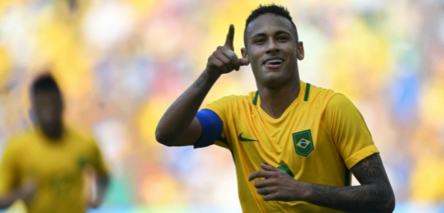 Neymar será la estrella de Brasil.