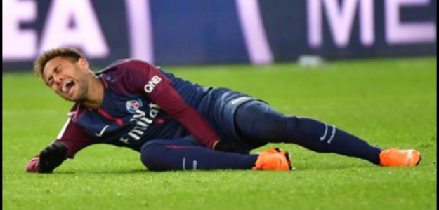 Neymar y su lesión de tobillo. Mundial 2018